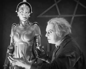 """Rotwang y su androide en """"Metropolis"""""""